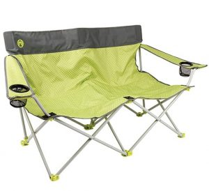 Coleman Quatro Double Seat Lawn Chair