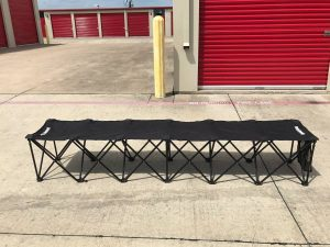 heavy duty folding seat bench bleacher