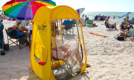 Under The Weather Tent – Personal Pop Up Canopy Pods