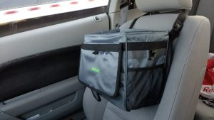 best drive auto car trash can garbage bin trunk organizer cans bag bags strap