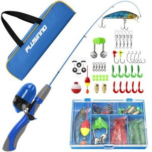 Plusinno Spincast Kids Fishing Rod Set
