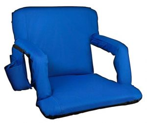 Alpcour Folding Stadium Seat with Back