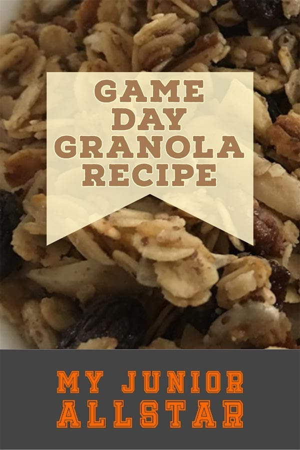 Game Day Granola Recipe