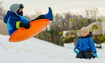 19 Cool Snow Sleds for Kids